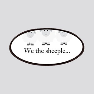 We the Sheeple Patches