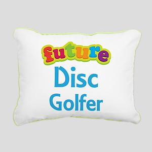 Future Disc Golfer Rectangular Canvas Pillow