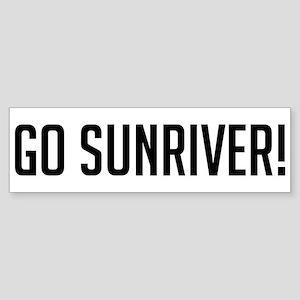 Go Sunriver Bumper Sticker