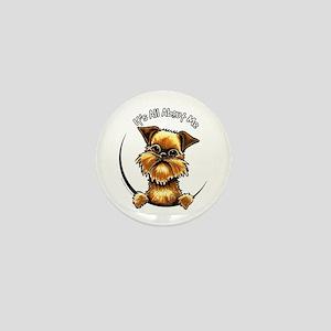 Brussels Griffon IAAM Mini Button