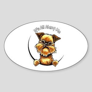 Brussels Griffon IAAM Sticker (Oval)