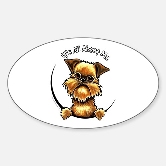 Brussels Griffon IAAM Sticker (Oval)