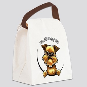 Brussels Griffon IAAM Canvas Lunch Bag