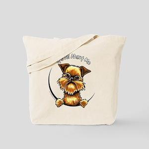 Brussels Griffon IAAM Tote Bag