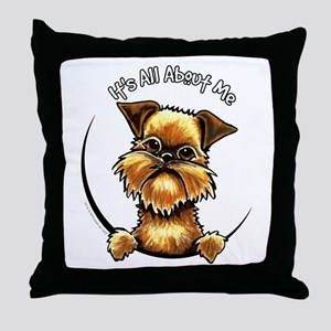 Brussels Griffon IAAM Throw Pillow