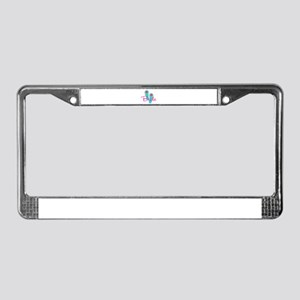 Flip Flop Bride License Plate Frame