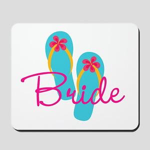 Flip Flop Bride Mousepad