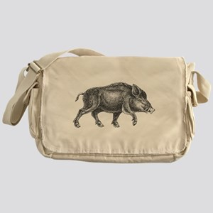 Wild Boar Messenger Bag