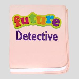 Future Detective baby blanket