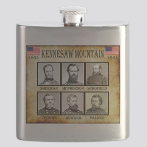 Kennesaw Mountain - Union Flask