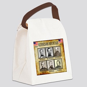 Kennesaw Mountain - Union Canvas Lunch Bag