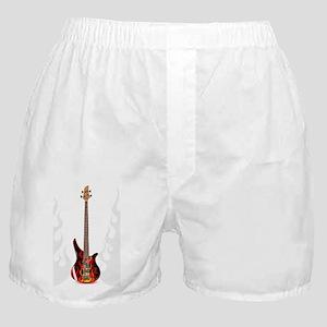 Vector Black Bass Guitar - Boxer Shorts