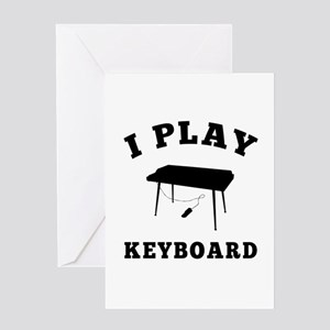 Keyboard designs Greeting Card