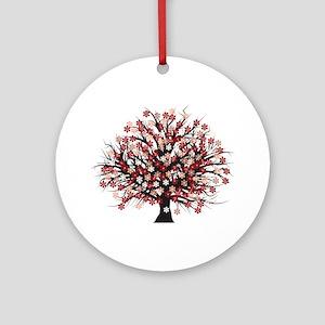 Blossoms Ornament (Round)