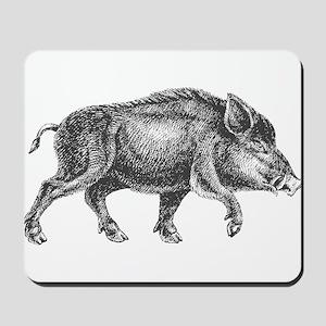 Wild Boar Mousepad