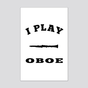 Oboe designs Mini Poster Print
