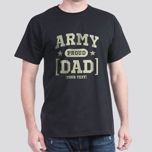 Army Mom/Dad/Sis/Bro Dark T-Shirt