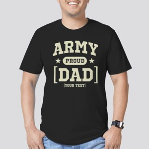 Army Mom/Dad/Sis/Bro Men's Fitted T-Shirt (dark)