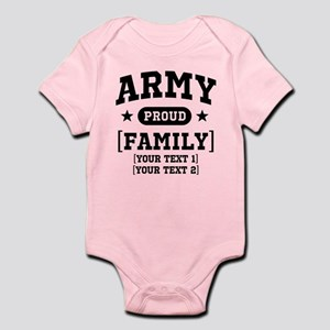 Army Sister/Brother/Cousin Infant Bodysuit