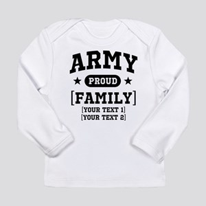 Army Sister/Brother/Cousin Long Sleeve Infant T-Sh