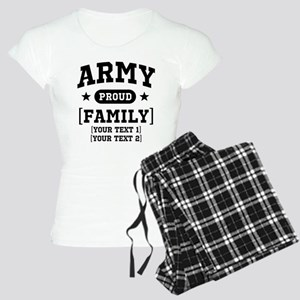 Army Sister/Brother/Cousin Women's Light Pajamas