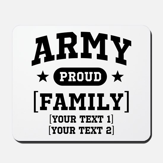 Army Sister/Brother/Cousin Mousepad