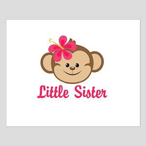 Little Sister Monkey Girl Posters