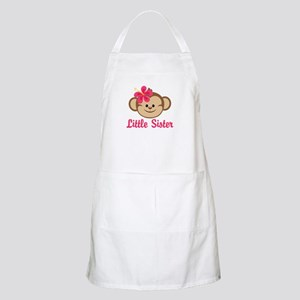 Little Sister Monkey Girl Apron