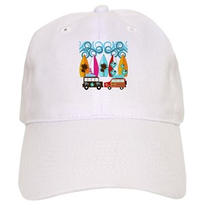 581ed7bef6e Surf Hats - CafePress