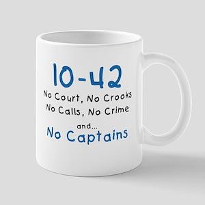 no cap white Mugs