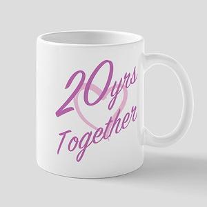 Cute 20th Anniversary Mugs