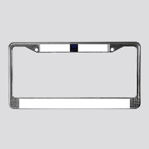 Man Is Free - Voltaire License Plate Frame