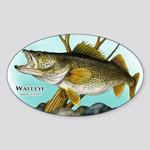 Walleye Sticker