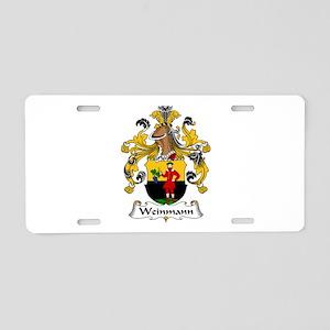 Weinmann Aluminum License Plate