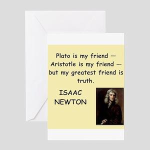 NEWTON Greeting Card