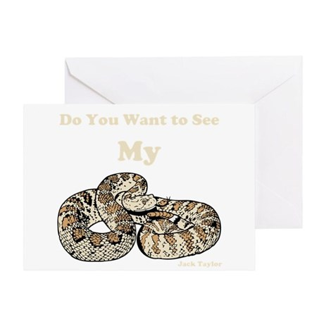My Snake Greeting Card