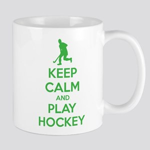 Keep calm and play hockey Mug