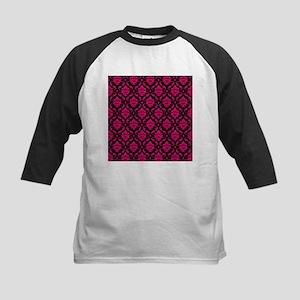 Pink and Black Decorative Baseball Jersey