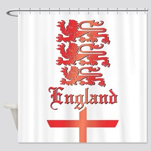 England COA 2 Shower Curtain