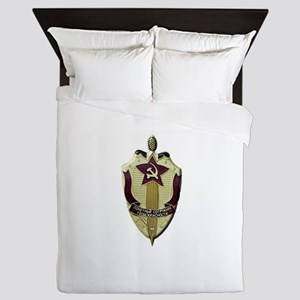 KGB Badge Queen Duvet
