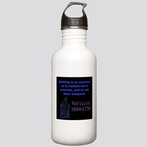Nothing Is So Common - Voltaire Water Bottle