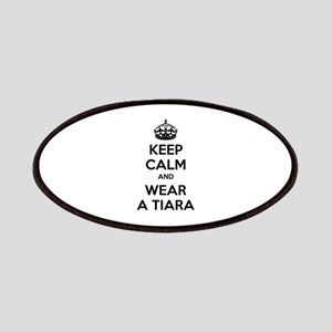 Keep calm and wear a tiara Patches