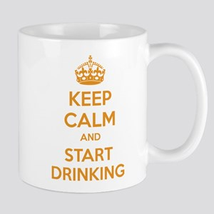Keep calm and start drinking Mug