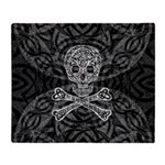 Celtic Skull & Crossbones Throw Blanket