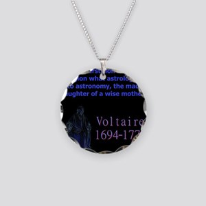 Superstition Is To Religion - Voltaire Necklace