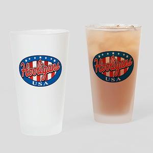 Hooligans USA Drinking Glass