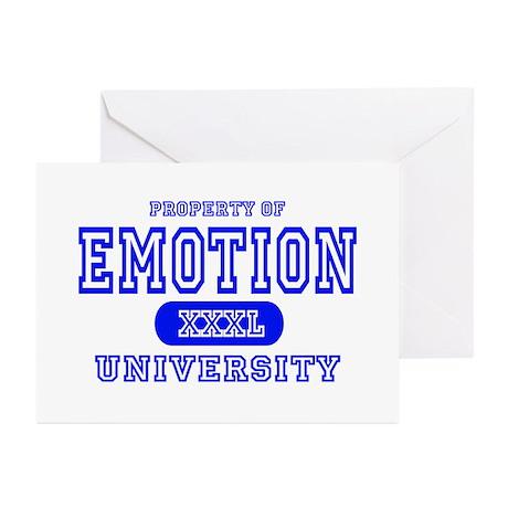 Emotion University Greeting Cards (Pk of 10)