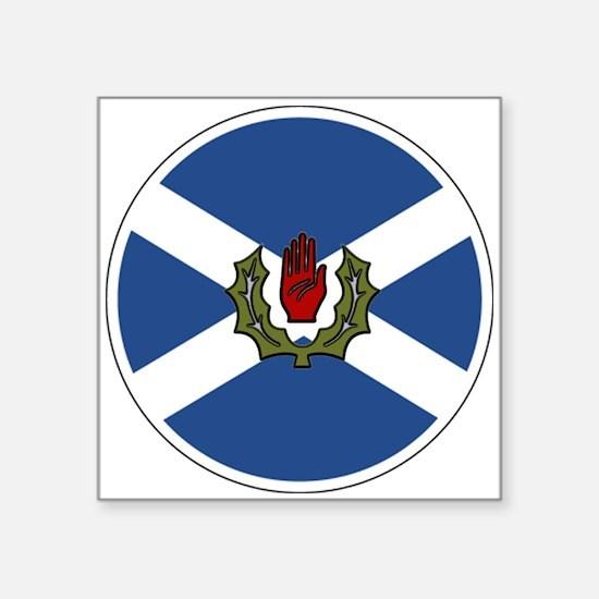 "3"" Scots-Irish Lapel Stickers (48 pk) Sticker"