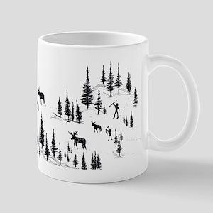 Caveman Hunting Party Mug