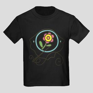 Cross Stitch Flower T-Shirt